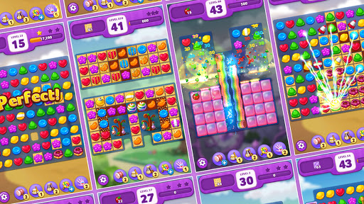Lollipop: Sweet Taste Match 3 21.0625.19 screenshots 2