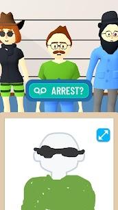 Line Up: Draw the Criminal APK MOD HACK (No Ads) 4