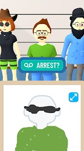 Line Up: Draw the Criminal Screenshot