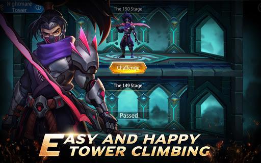 Infinite Heroesuff1aldle RPG game Apkfinish screenshots 13