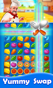 Yummy Swap - Chef Cooking & Match 3 Puzzle Game