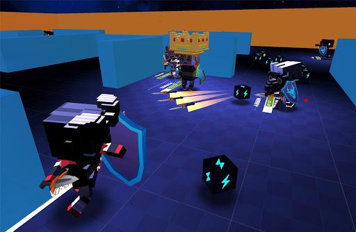 block throw io - battle royale game screenshot 2