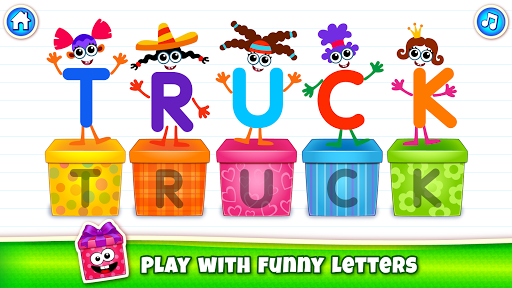 Baby ABC in box! Kids alphabet games for toddlers! 3.3.3.2 screenshots 2