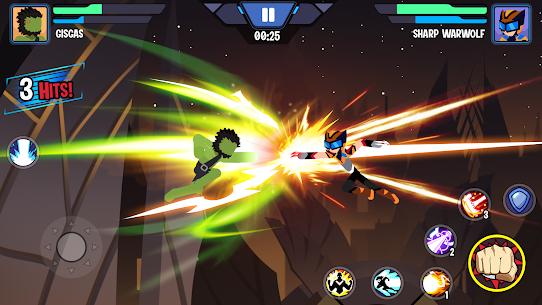 Stickman Heroes Fight – Super Stick Warriors Mod Apk (No Skills/Ultimate) 5