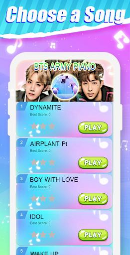 Dynamite - BTS KPOP Piano Tiles 1.0 Screenshots 1