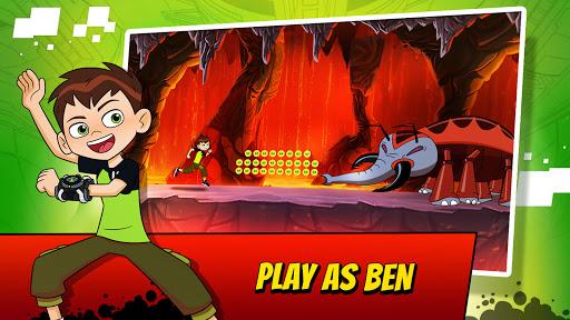 Ben 10 Alien Run apkslow screenshots 1