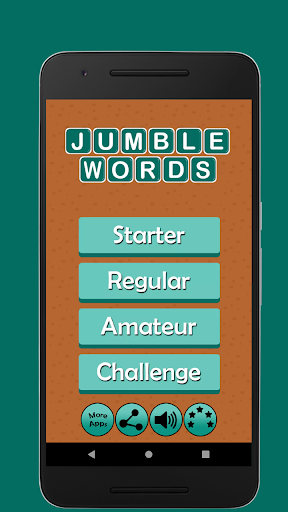 Jumble Word Game - Correct the Spelling 1.5 screenshots 1