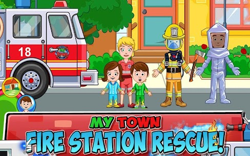 My Town : Fire station Rescue 1.28 APK (Mod) Newest 1