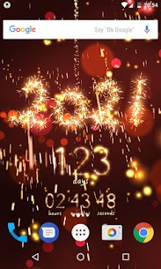 New Year countdown 1