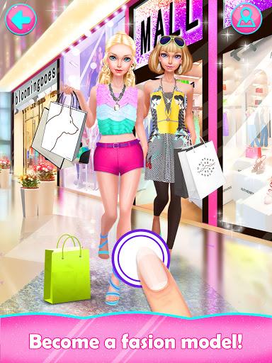 Fashion Doll: Shopping Day SPA ❤ Dress-Up Games  screenshots 1