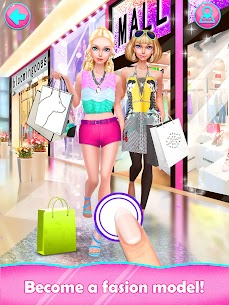 Fashion Doll: Shopping Day SPA ❤ Dress-Up Games Apk 3
