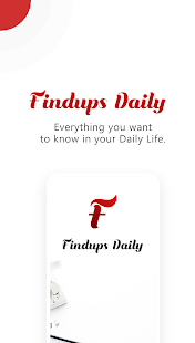Findups Daily: Instant News in 3 Sentences Screenshot