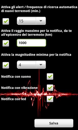 Terremoti ed alert  Screenshots 6