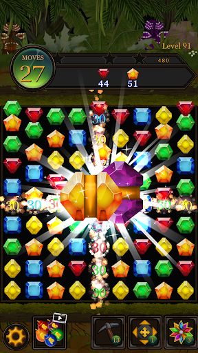 Secret Jungle Pop : Match 3 Jewels Puzzle 1.5.1 screenshots 2
