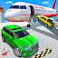 Airplane Car Parking Game: Prado Car Driving Games icon