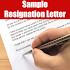 Resignation Letter Sample