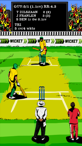 hit wicket cricket - west indies league game screenshot 2