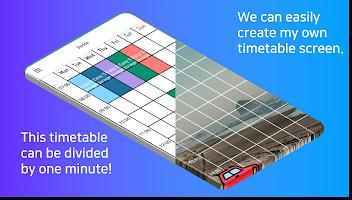 Planner Timetable with alarm for study - Damda