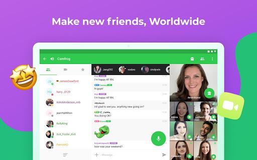 Camfrog: Flirt & Group Video Chat with Strangers Apkfinish screenshots 5