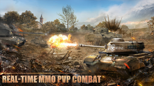 Tank Warfare: PvP Blitz Game  screenshots 1