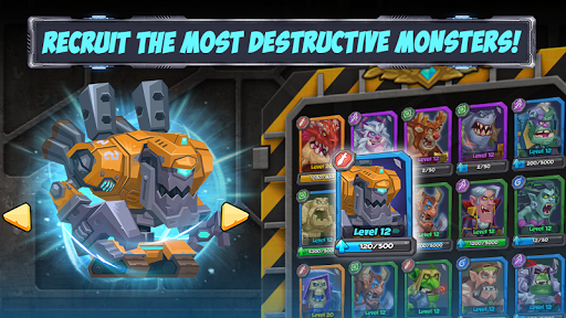 Tactical Monsters Rumble Arena -Tactics & Strategy screenshots 18