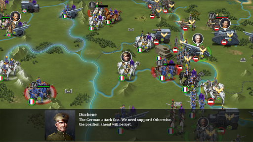 European War 6:1914 - WW1 Strategy Game 1.3.14 screenshots 1
