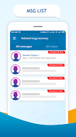 Deleted messages recovery : Notification history