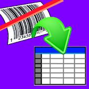 Scan to Spreadsheet  Icon