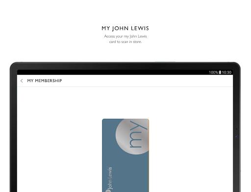 John Lewis & Partners modavailable screenshots 12