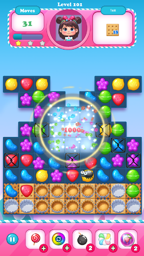 Candy Bomb - Match 3  screenshots 14