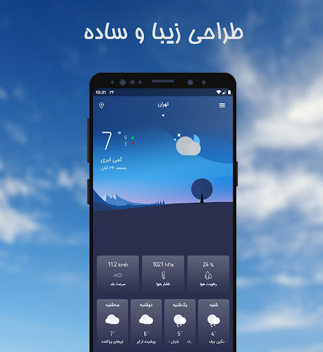 Havasanj | Weather forecast and Air pollution 4.1.0 Screenshots 1