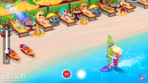 My Little Paradise : Resort Management Game Apkfinish screenshots 2