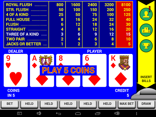 Video Poker Classic Double Up 6.20 screenshots 8