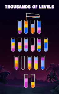 Free Sort Water Puzzle – Color Liquid Sorting Game 1