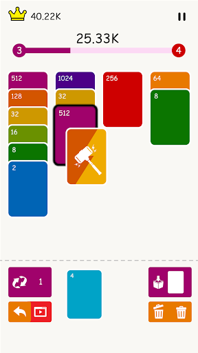 2048 : Solitaire Merge Card android2mod screenshots 6