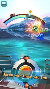 Real Fishing – Ace Fishing Hook game MOD APK 1.1.1 (Unlimited Hook) 3