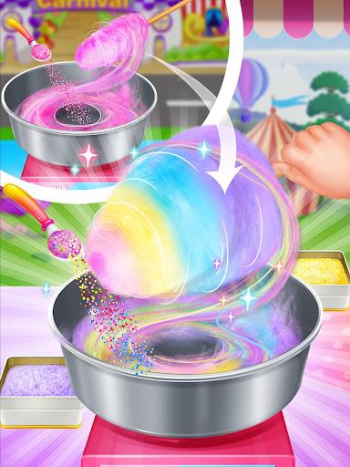Unicorn Cotton Candy Maker - Rainbow Carnival 1.2 screenshots 8