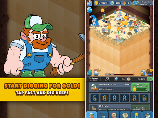 Tap Tap Dig 2: Idle Mine Sim 0.4.0 screenshots 22