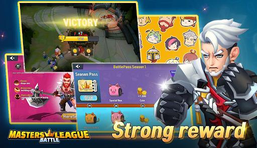 Masters Battle League 5v5 : Legend MOBA PvPTrainer screenshots 17