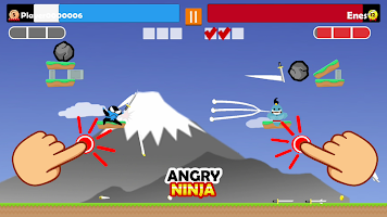 Jumping Ninja Party 2 Player Games
