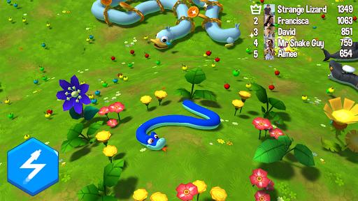 Code Triche Snake Rivals - Nouveau Jeu Snake en 3D APK MOD (Astuce) screenshots 1