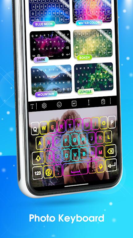 Neon LED Keyboard - RGB Lighting Colors poster 12
