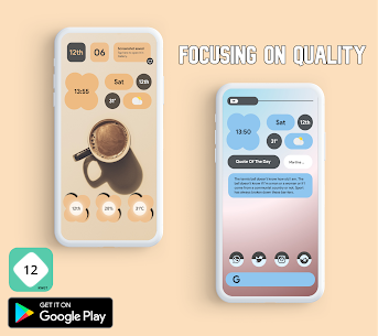 Android 12 Widgets KWGT Apk (PAID) 2