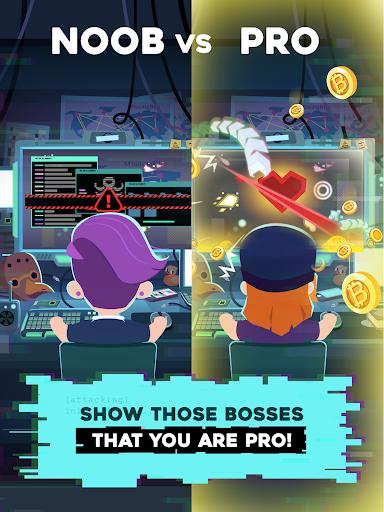 Hacking Hero - Cyber Adventure Clicker screenshots 17