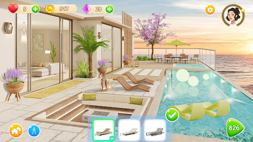 Homecraft - Home Design Game  screenshots 7