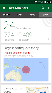 Earthquake Alert! 3.0.4 Screenshots 4