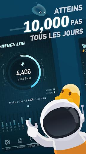 Code Triche Walkr: Fitness Space Adventure apk mod screenshots 1