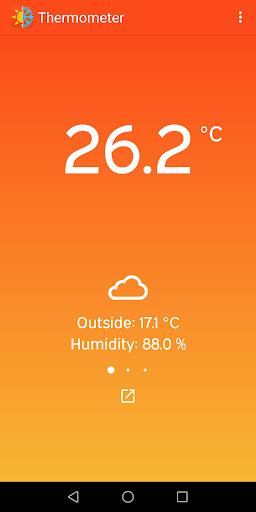 Thermometer - Indoor & Outdoor Temperature 7.4 Screenshots 1