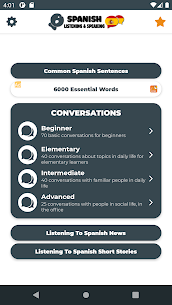 Learn Spanish  Listening For Pc – Free Download For Windows 7/8/10 And Mac 1