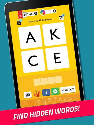 Word Trek - Word Brain streak - hand made puzzles 1.4.12 screenshots 8
